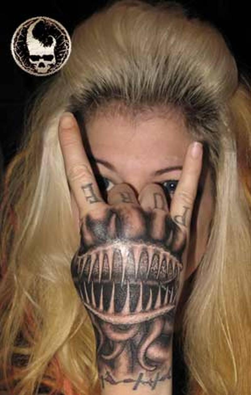 3d Hand Tattoo Design Tattoos Book 65 000 Tattoos Designs