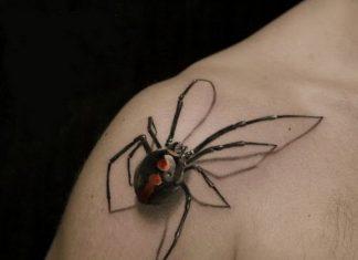 3d-spider-tattoo
