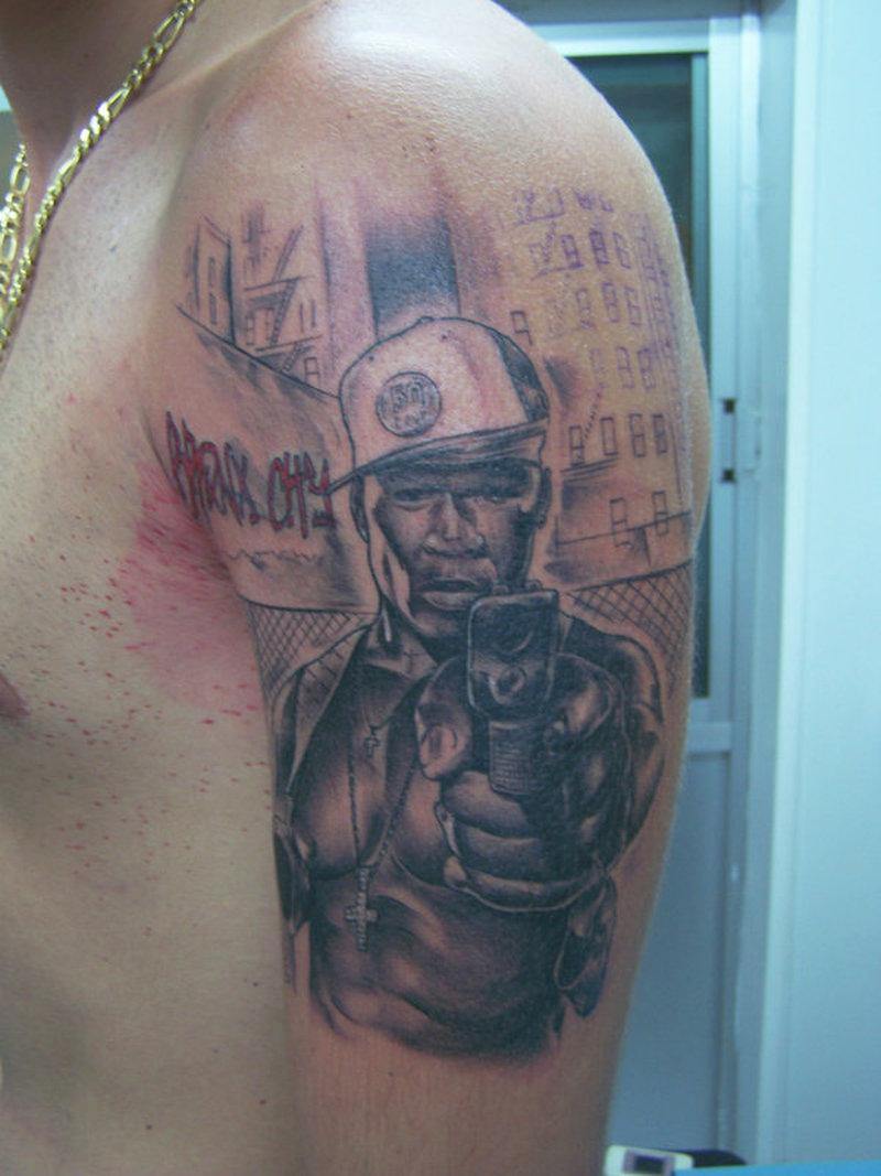 50 Cent Tattoos 50 cent no tattoos - tattoos book - 65.000 tattoos designs