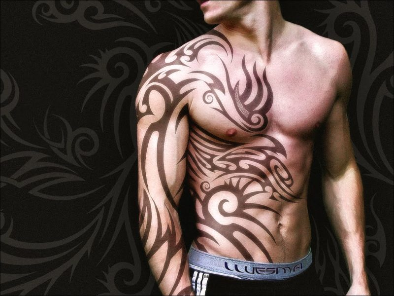 African Tribal Tattoos Designs