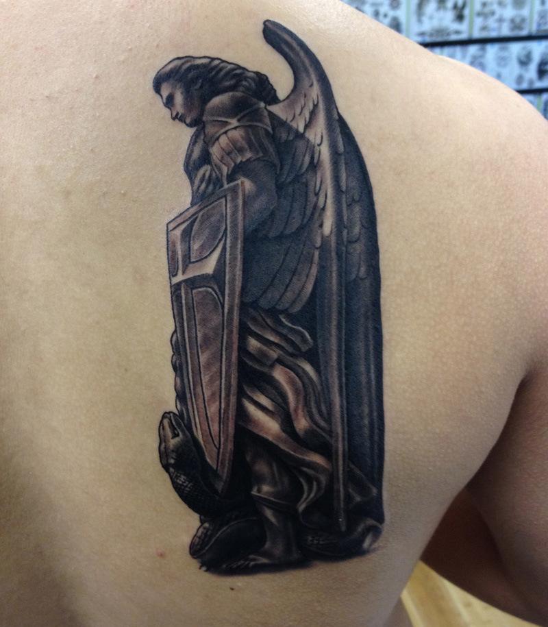 Archangel Michael Tattoo Sleeve - Tattoos Book - 65.000 ...