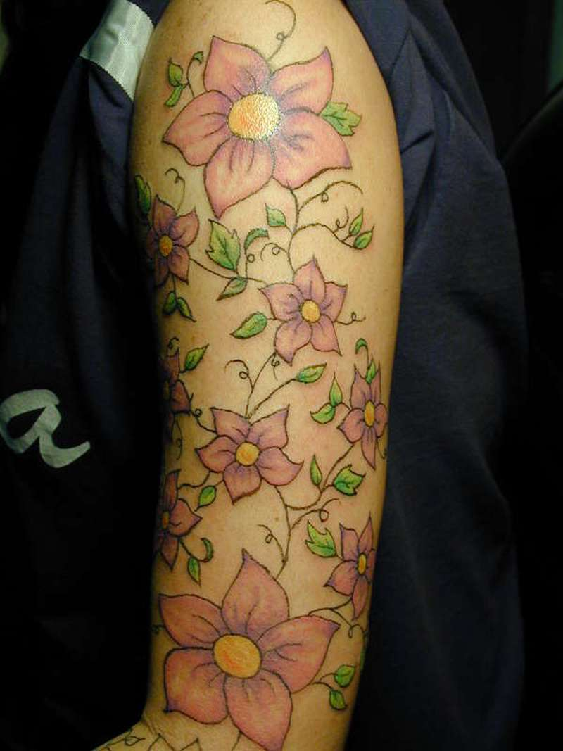 Arm Sleeve Tattoos For Women