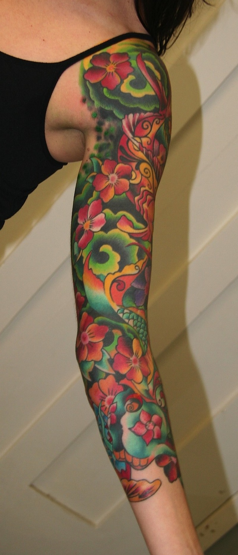Awesome Sleeve Tattoos For Women