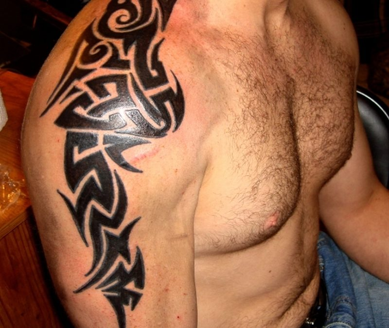 Awesome Tribal Tattoos Shoulder