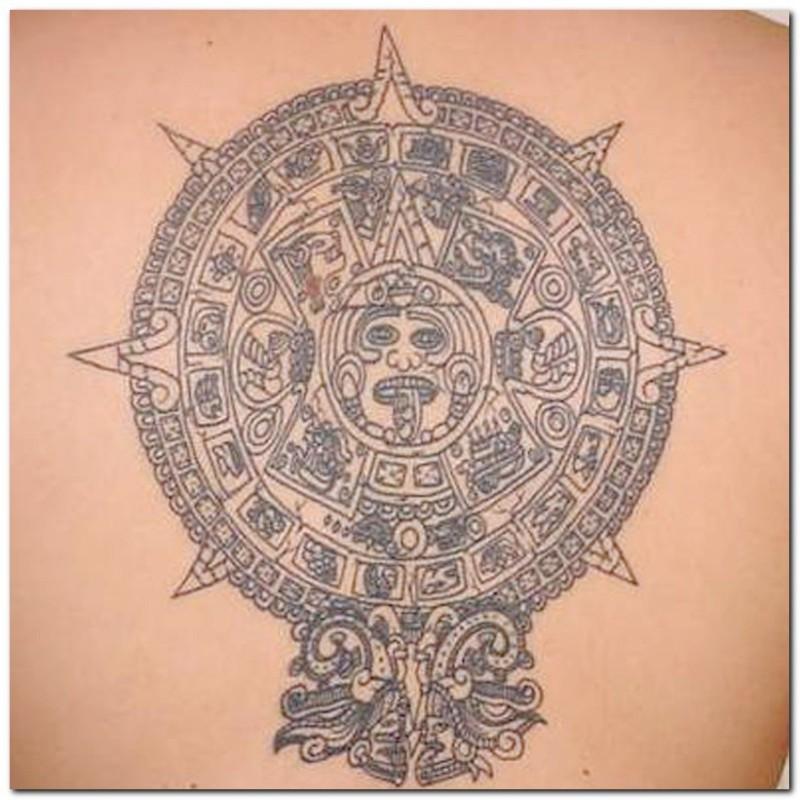 Aztec Tattoos Designs Free