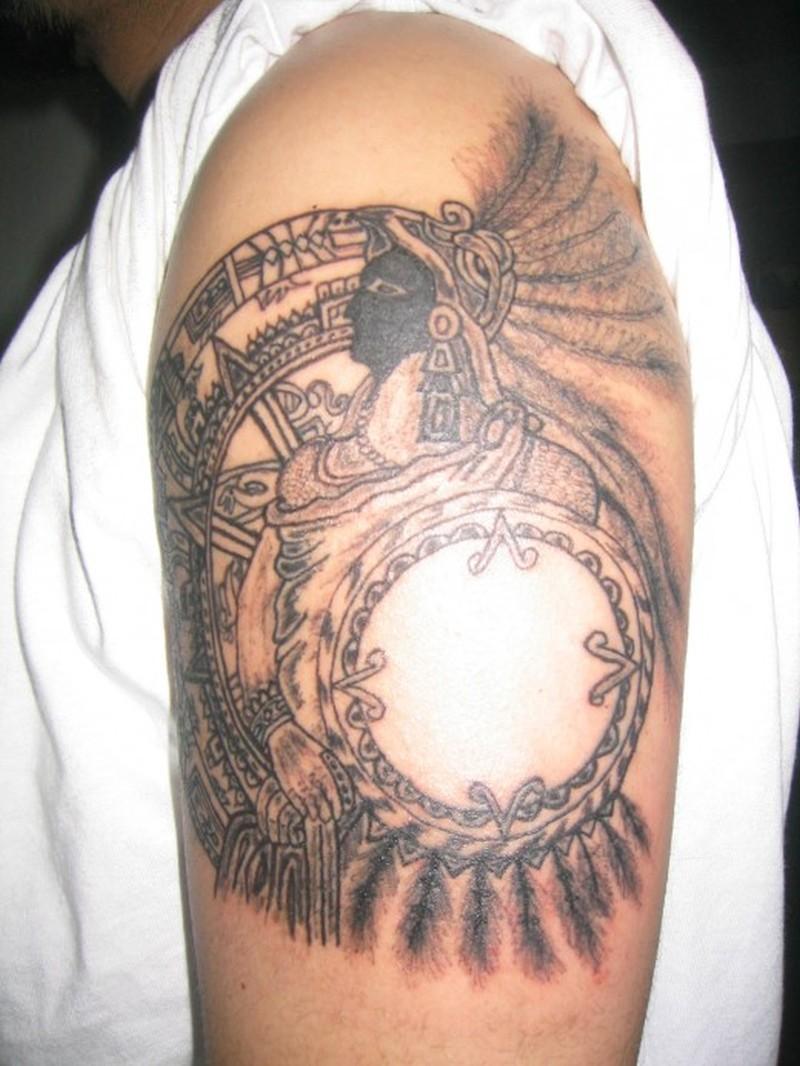 Aztec Tattoos Designs Women