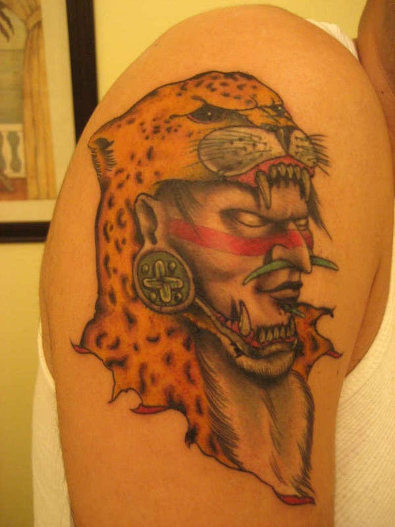 622a39a10 Aztec Warrior Tattoo 2 - Tattoos Book - 65.000 Tattoos Designs