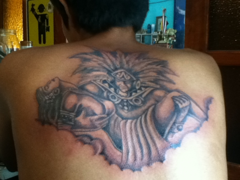 9bdddeaf9 Aztec Warrior Tattoos Tumblr4 - Tattoos Book - 65.000 Tattoos Designs
