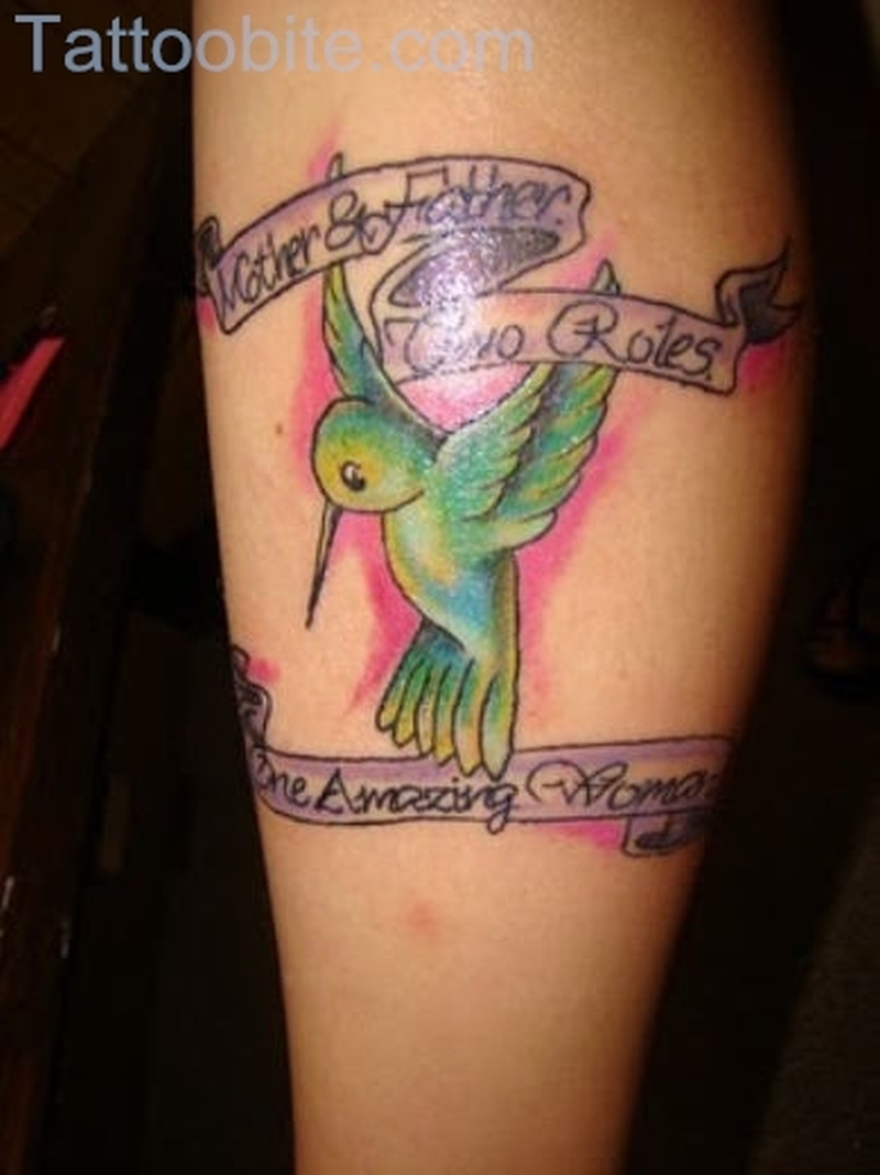 Baby Hummingbird Tattoo