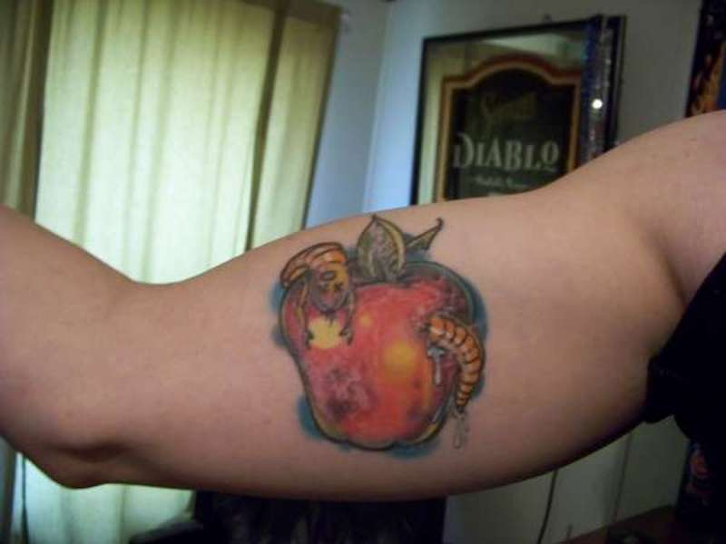 Bad Apple Tattoo 2