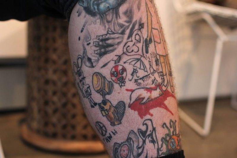 Bang Bang Tattoos By Celebrities