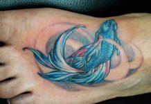 Small Fish Tattoo In Ear Tattoos Book 65 000 Tattoos Designs
