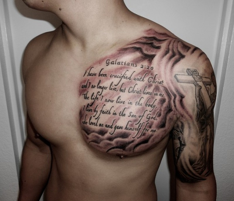 Bible Verse Tattoos For Men On Bicep Tattoos Book 65000