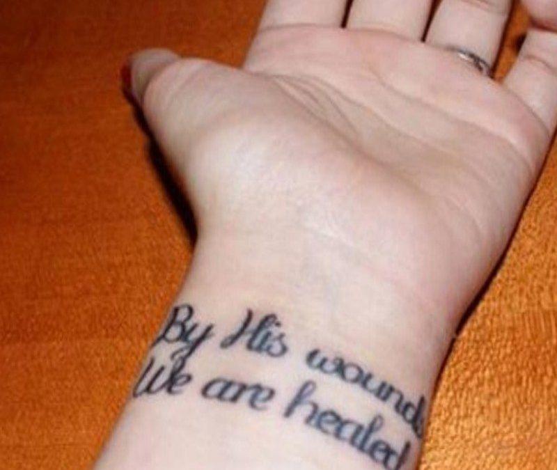 Bible Verses Tattoos On Wrist