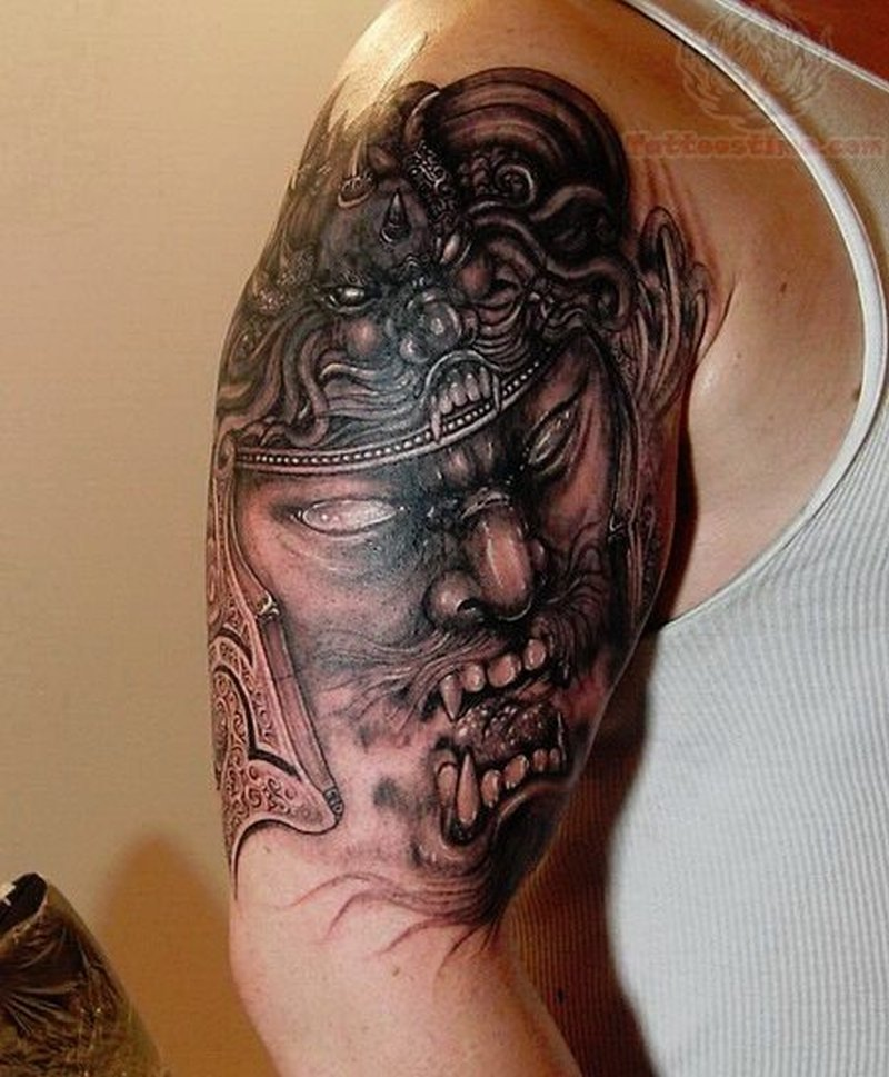 Bicep Tattoos For Menn