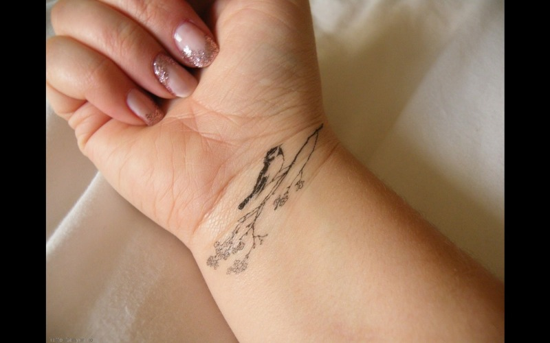Bird Wrist Tattoo Ideas