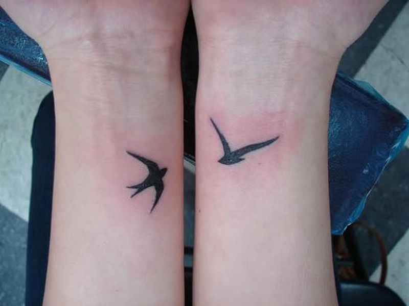 Bird Wrist Tattoo