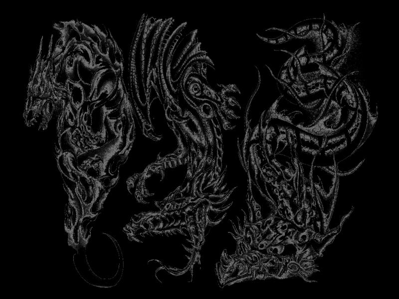 Black And White Flash Art Tattoos1