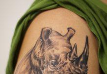 Black light tattoo on the arm cool patterns - Tattoos Book