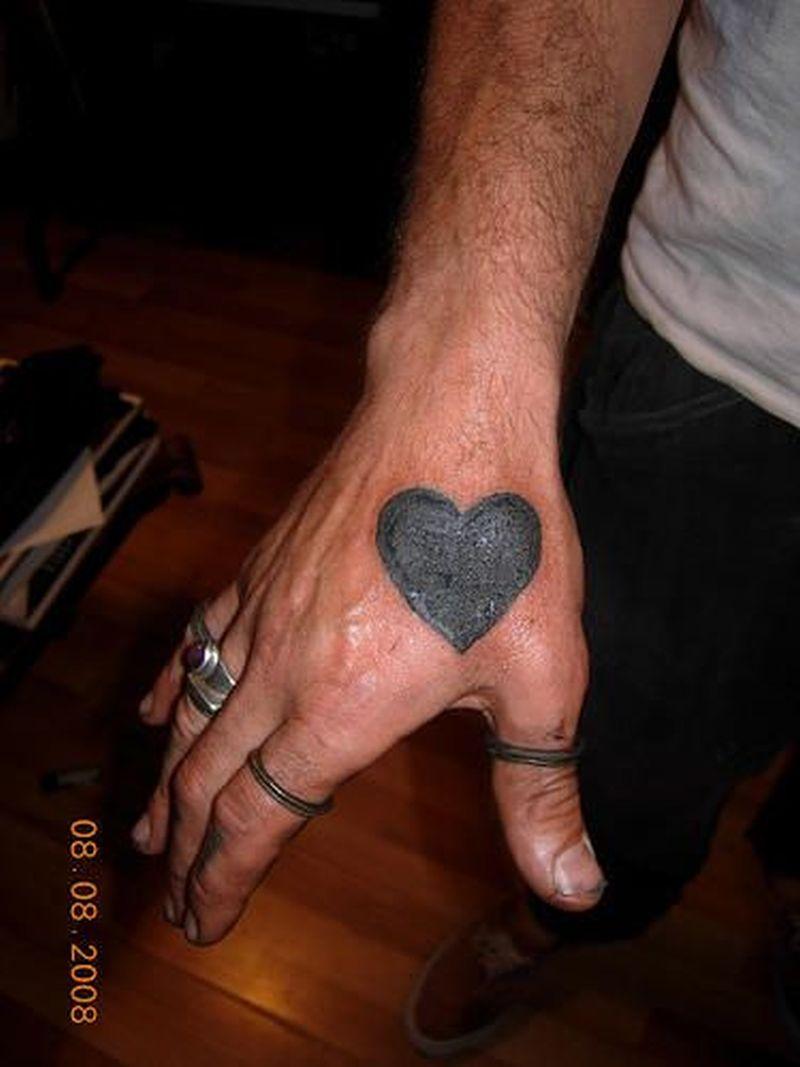 Black Heart Tattoo Designs 2