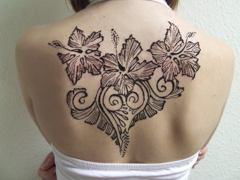 Black Henna Tattoo Designs