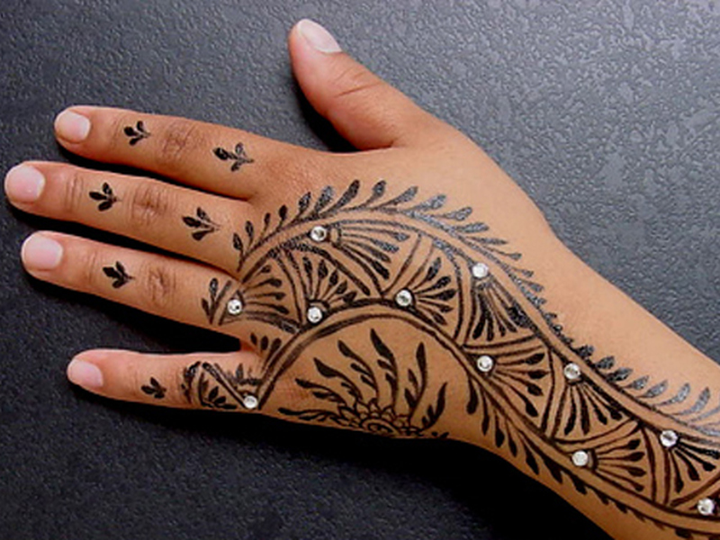 Black Henna Tattoo Kits Walmart