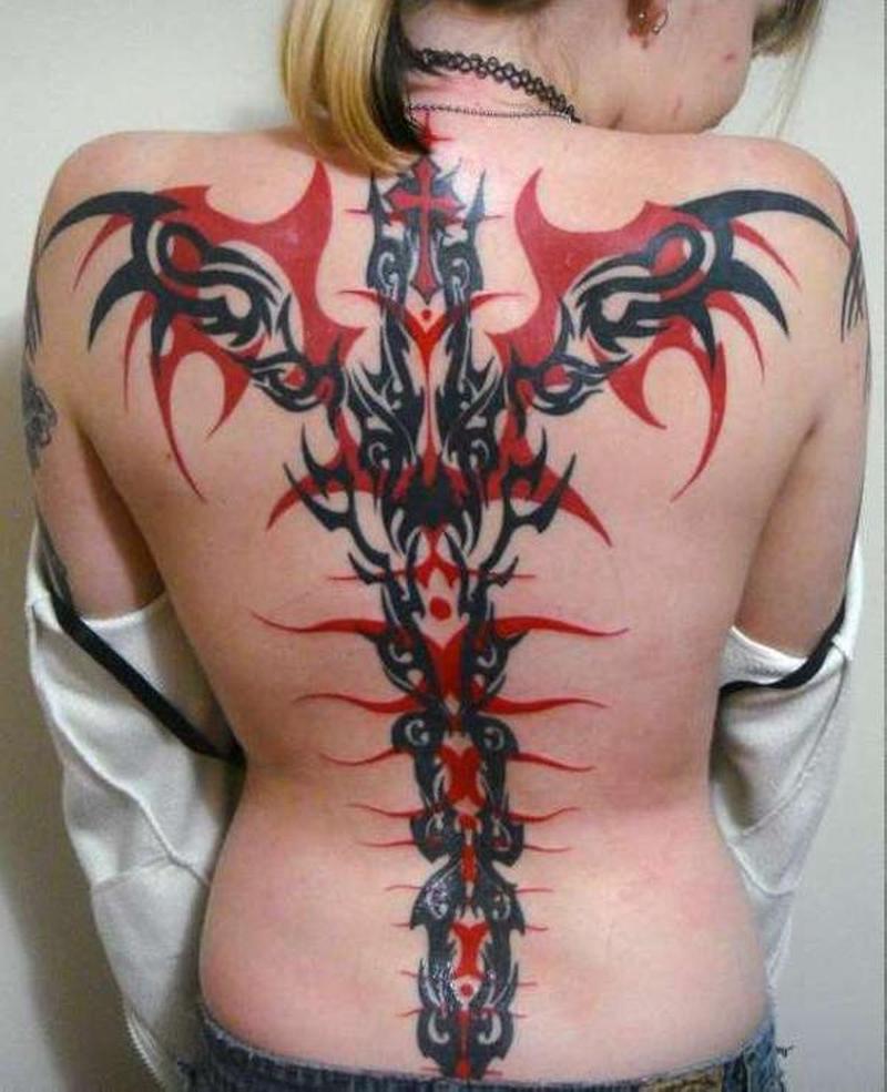 Black Tattoos For Women