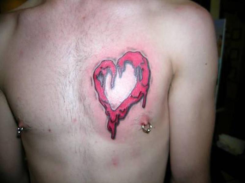 Bleeding Heart Tattoo