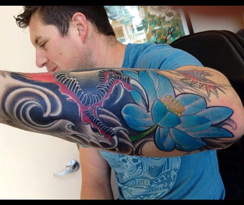Blue Dragon Tattoo Sf7