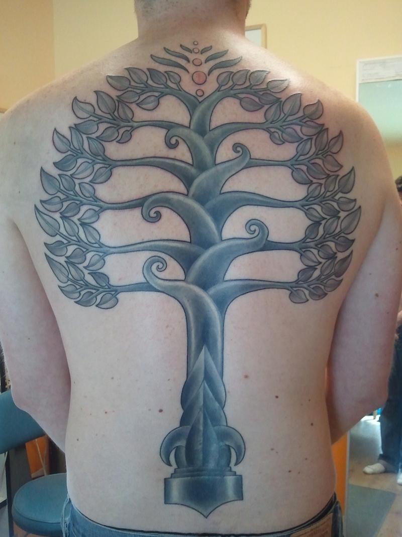 Bodhi Tree Tattoo