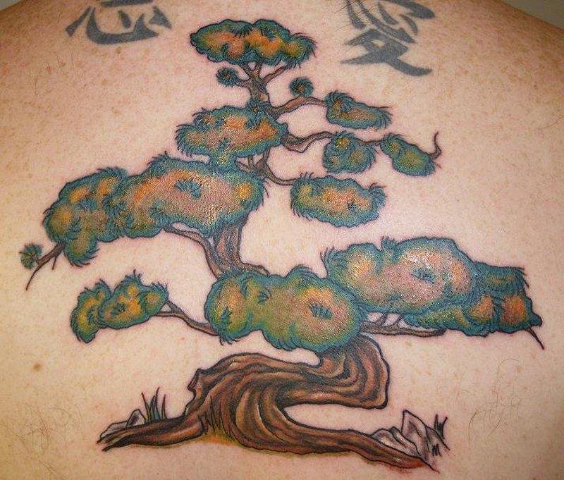 Bonsai Tree Tattoo Art