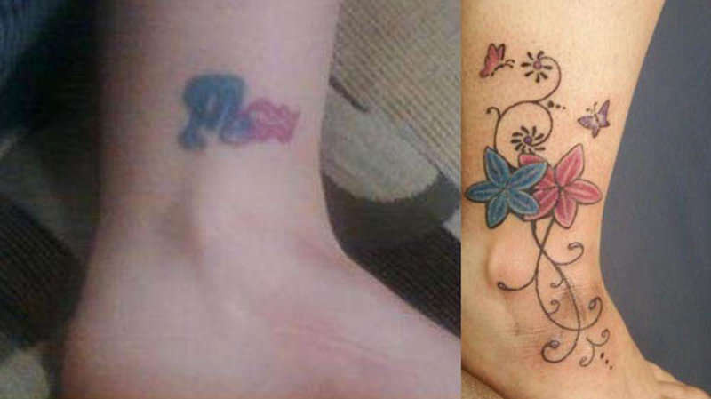Boyfriend And Girlfriend Matching Tattoos Ideas