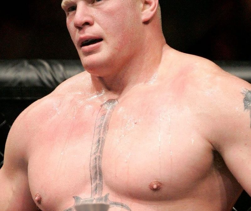 Brock Lesnar Tattoo On Chest