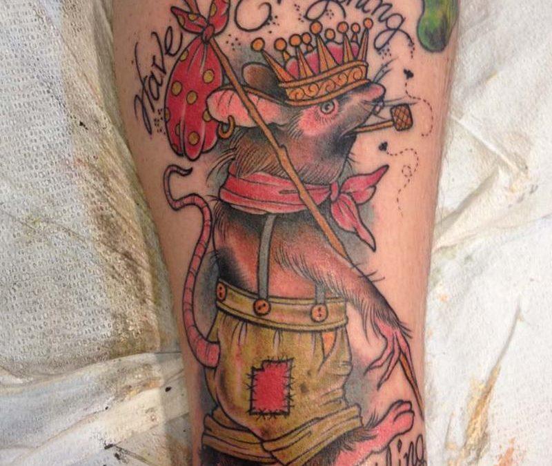 Broken Art Tattoo Dillon