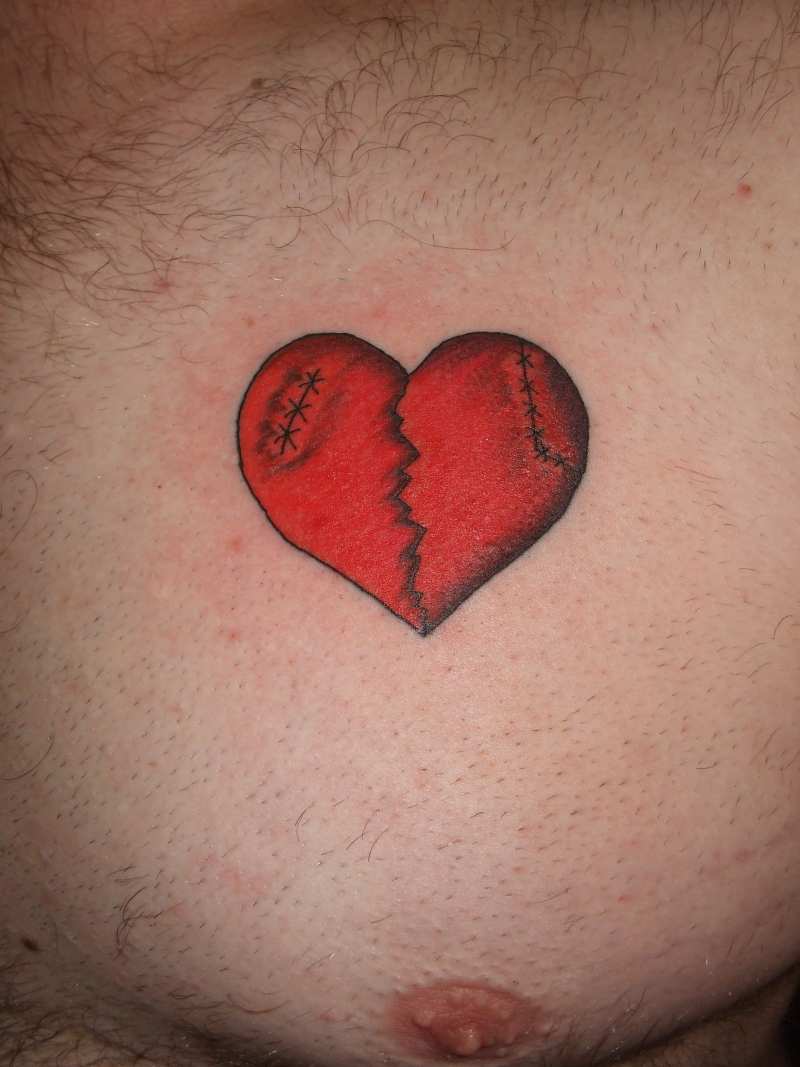 Broken Heart Tattoo Designs1