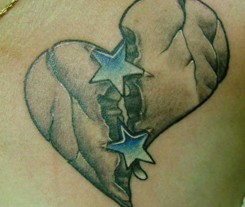 Broken Heart Tattoo Ideaso