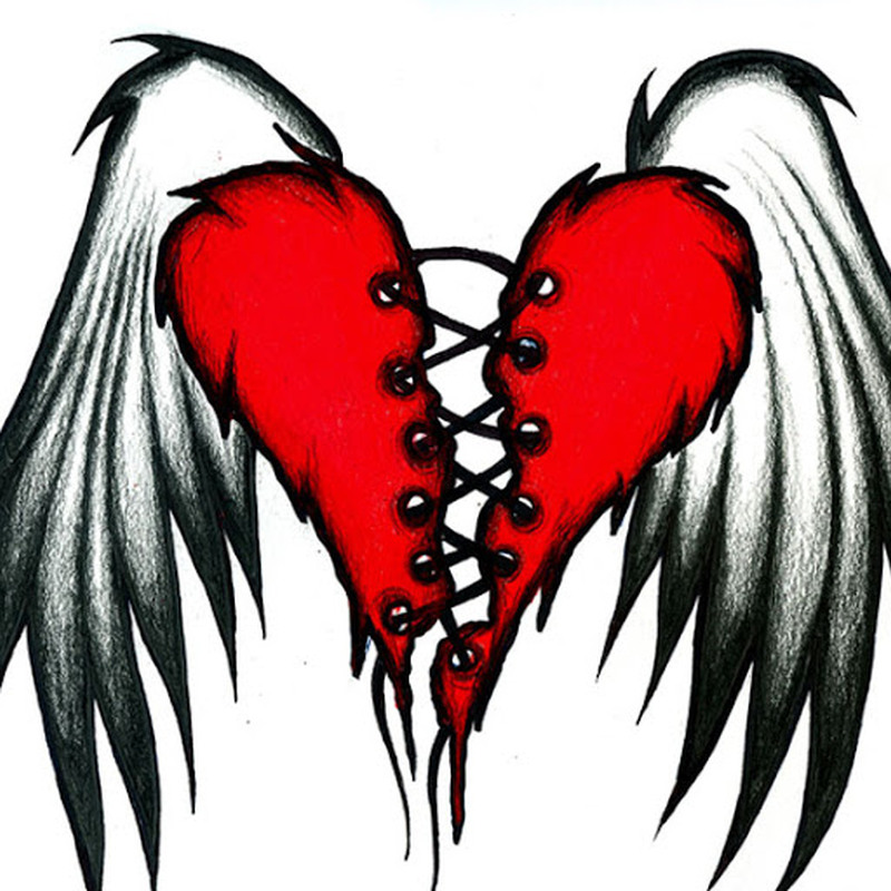 Broken Heart Tattoos Designsr