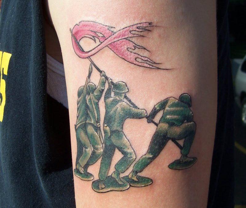 Cancer Awareness Tattoos For Men