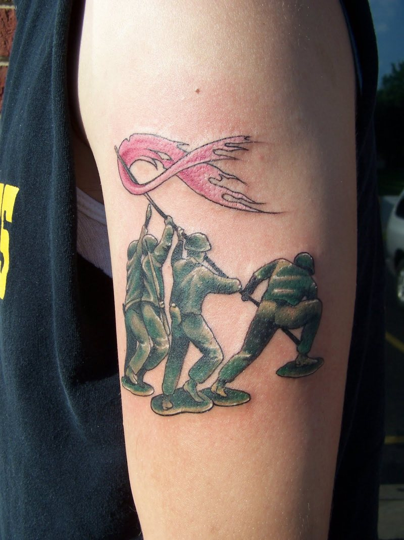 Cancer Awareness Tattoos For Men