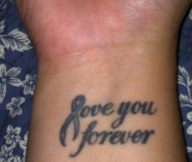 Cancer Memorial Tattoos Designs