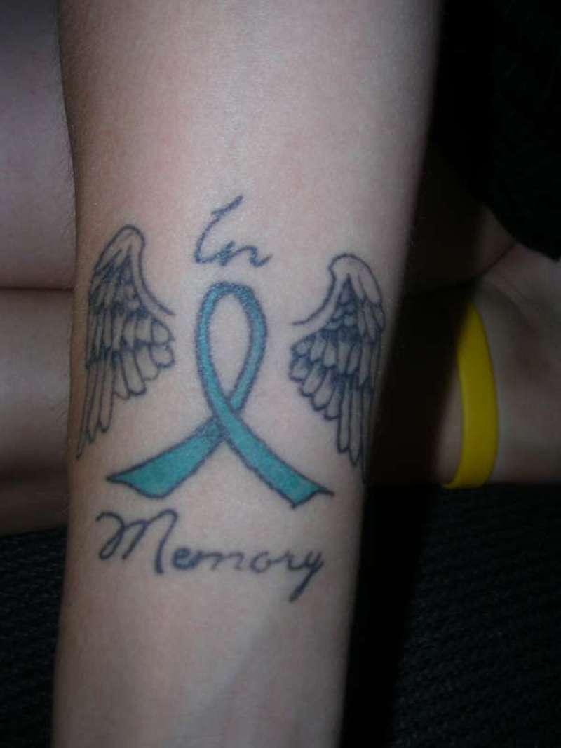 Cancer Memorial Tattoos