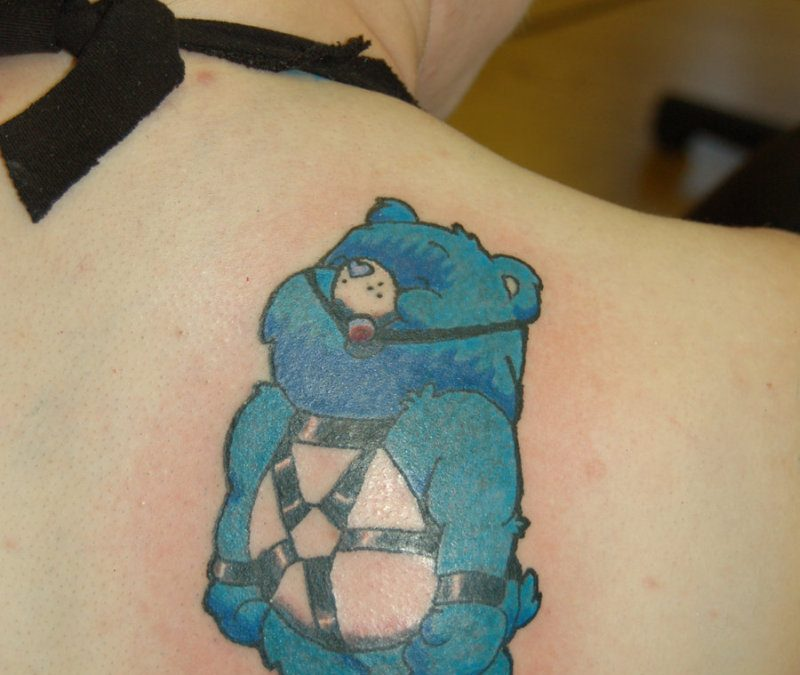 Care Bear Heart Tattoos