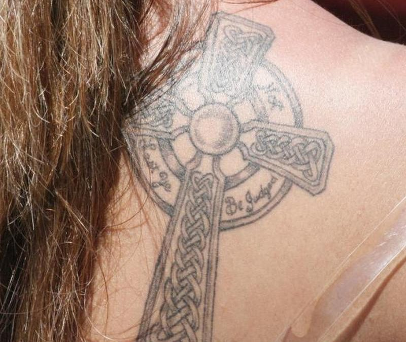 Celtic Cross For Women(2) tattoo