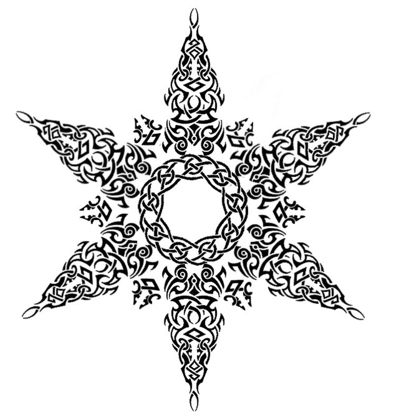 Celtic Symbol For Angel tattoo