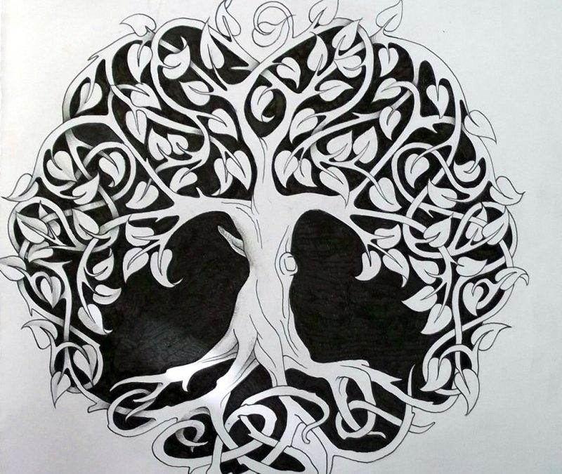 Celtic Tree Of Life Tattoo Designs