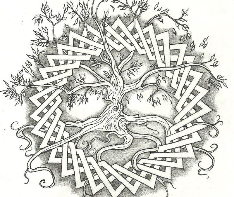 Celtic Tree Tattoos Designs