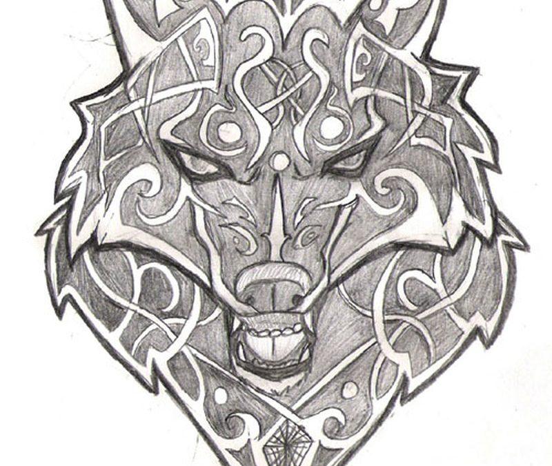 Celtic Wolf Tattoo