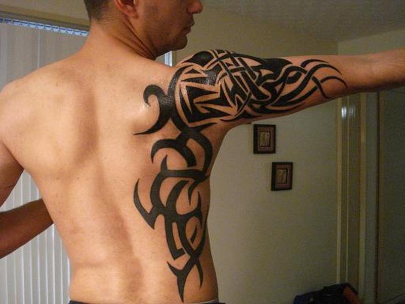 Celtic Wolf Tattoos For Men
