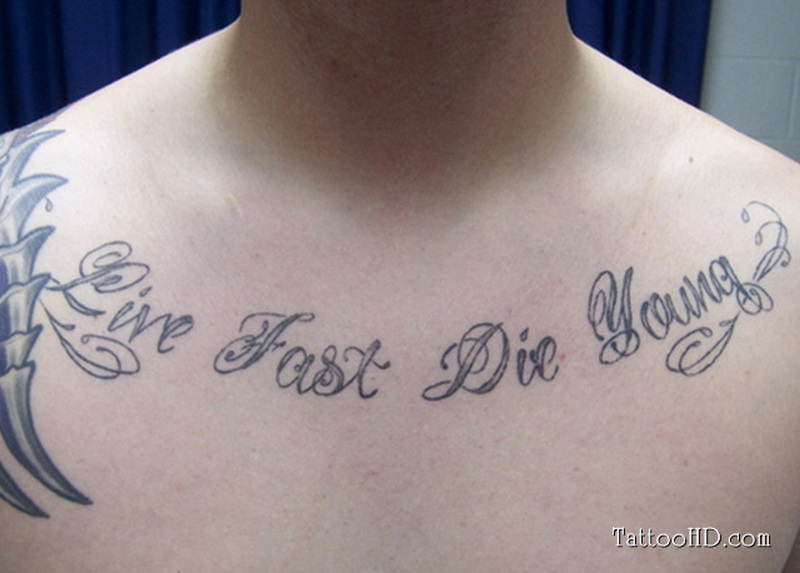 Chest Quote For Men Tumblr Tattoo Tattoos Book 65 000 Tattoos
