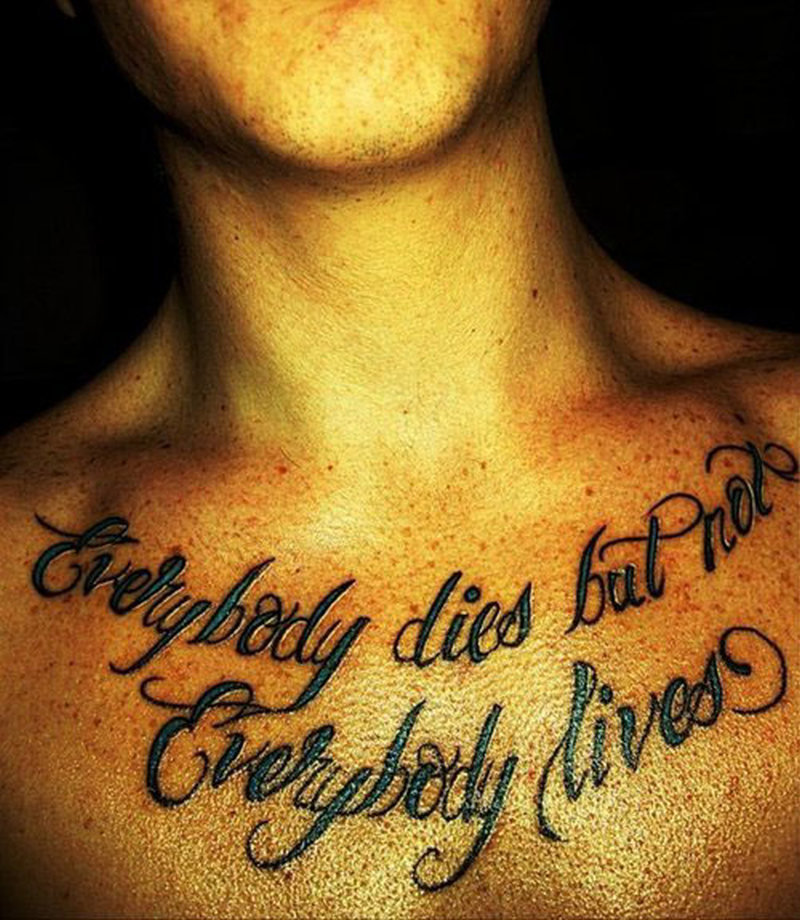 Chest Tattoo Quotes About Family - Tattoos Book - 65.000 Tattoos ...